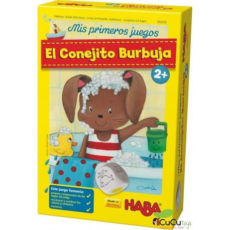 HABA - Mis primeros juegos: El Conejito Burbuja, juego de mesa