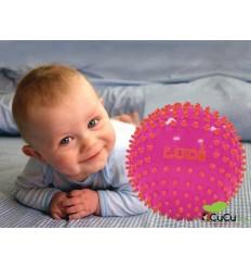 Ludi - Pelotas de estimulación sensorial Fucsia-Rojo