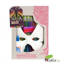 Seedling - Máscara de mariposa para diseñar, juguete creativo