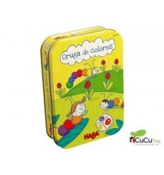 HABA - Oruga de Colores, juego de mesa en lata