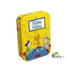 HABA - Miau Miau, juego de mesa en lata