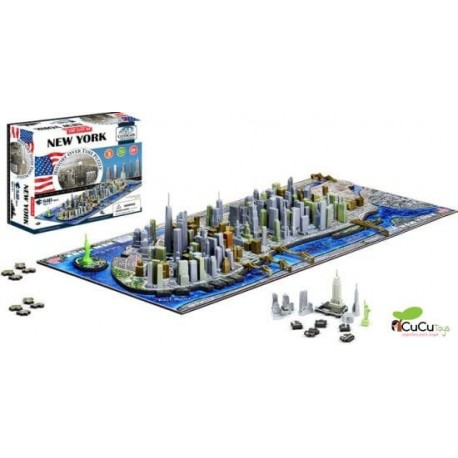 4DCityScape - Puzzle New York