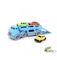 Greentoys - Camión porta coches, juguete ecológico