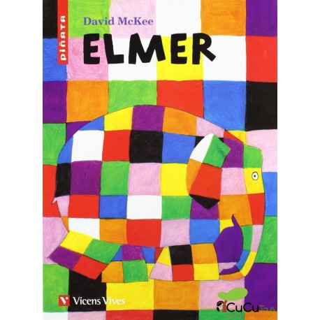Vincent Vives - Piñata: Elmer, Cuento Infantil