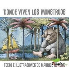 Maurice Sendak - Donde Viven los Monstruos, Cuento Infantil