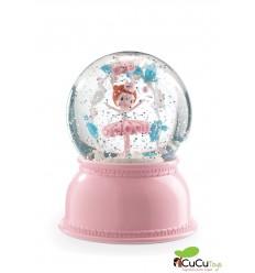 Djeco - Lampara de nieve Bailarina