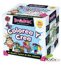 BrainBox - juego de memoria: Colorea y Crea