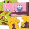 Djeco - Dúo mamá y bebé, puzzle de 2 piezas