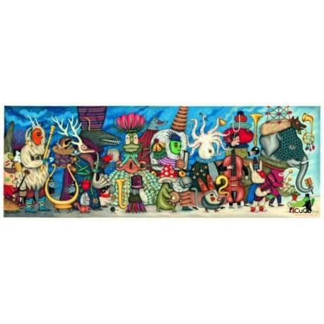Djeco - Orquesta fantasía, puzzle de galería