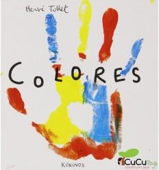 Colores - Hervé Tullet, Cuento Infantil