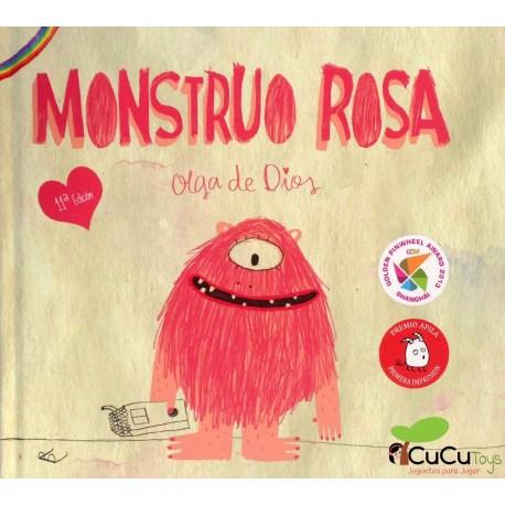 Olga de Dios, Monstruo Rosa, Cuento Infantil