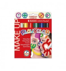 Playcolor - Maquillaje Pocket 6 Colores Basic