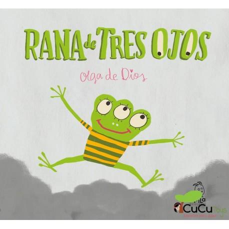 Rana de tres ojos - Olga de Dios, Cuento infantil