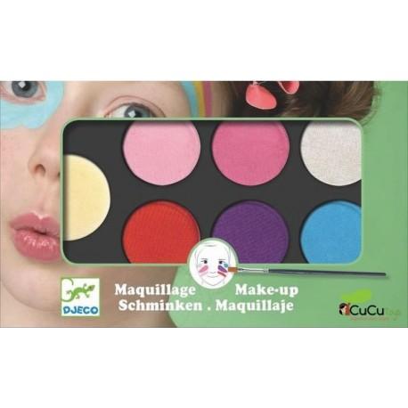 Djeco - Estuche de maquillaje 6 colores: Dulce
