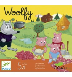 Djeco - Woolfy, board game