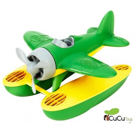 GreenToys - Hidroavión de plástico reciclado, juguete ecológico.