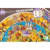 Djeco - Historia, puzzle 350 pz + poster + libro educativo