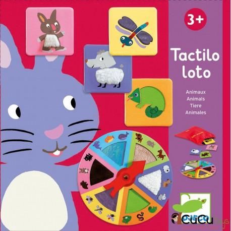 Djeco - Tactilo Loto Animales