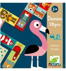 Djeco - Dominó Animales