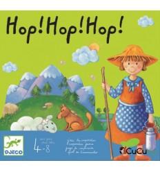 Djeco - Hop hop hop, juego de mesa