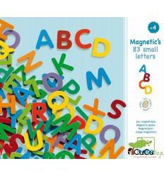 Djeco - Letras de madera magnéticas