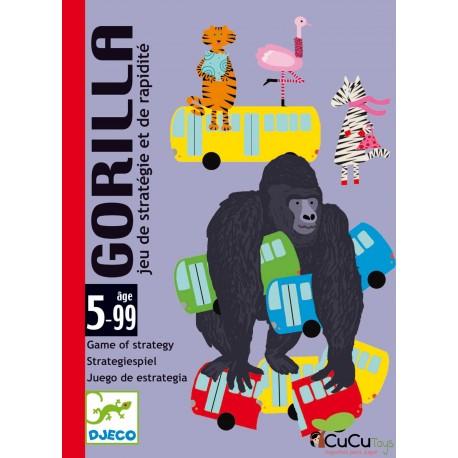 Djeco - Gorilla, juego de cartas