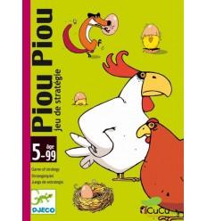 Djeco - Piou Piou, juego de cartas