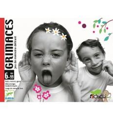 Djeco - Grimaces, juego de cartas