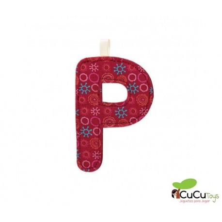 Lilliputiens - Letra P del alfabeto, de tela