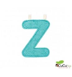 Lilliputiens - Letra Z del alfabeto, de tela