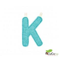 Lilliputiens - Letra K del alfabeto, de tela