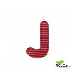 Lilliputiens - Letra J del alfabeto, de tela