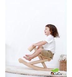 Plantoys - Caballito Plegable, juguete de madera