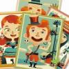 Djeco - Retratos cambiantes, juego creativo