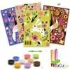 Djeco - Arenas de Color Maravillas de los bosques, juego creativo