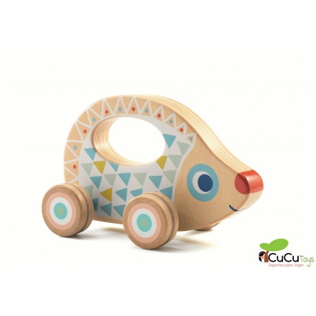 Djeco - Cochecito con forma de Erizo BabyRouli
