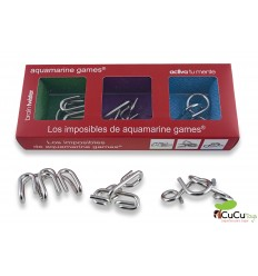 Aquamarine Games - Pack 3 imposibles en metal