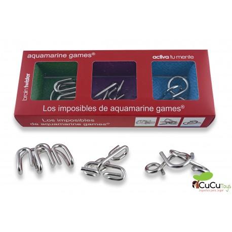 Aquamarine Games - Pack 3 imposibles en metal