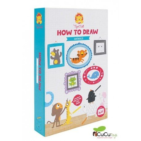 Tiger Tribe - How To Draw Animales