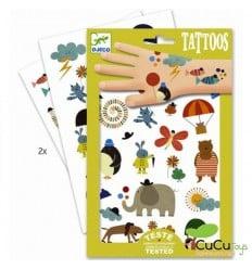 Djeco - Tatuajes Cositas Bonitas