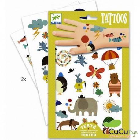 Djeco - Tatuajes Cosas Bonitas