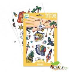 Djeco - Tatuajes Calcomanías Bang Bang