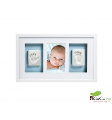 Pearhead - Marco pared babyprints Deluxe Blanco