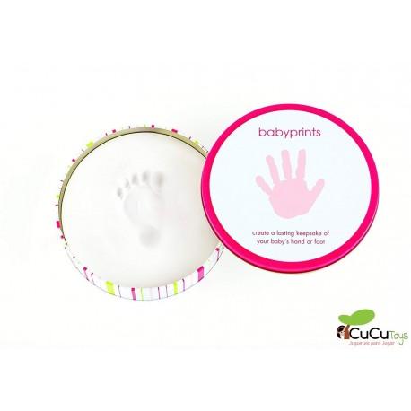 Pearhead - Lata Rosa Babyprints
