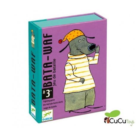 Djeco - Bata-Waf, juego de cartas