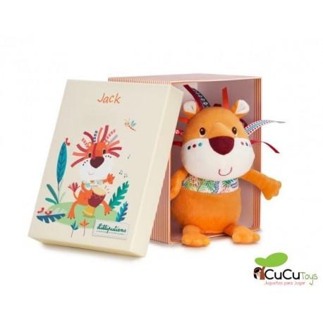 Lilliputiens - Jack el león, muñeco de peluche