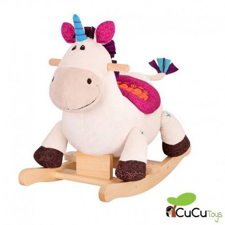 B You - Dilly Dally, Unicornio balancín