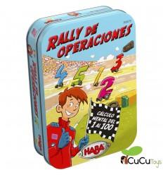 HABA - Rally de operaciones, juego de mesa en lata