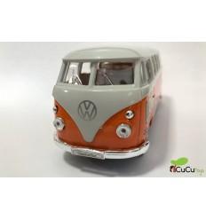 Welly - Volkswagen T1 -retro- (1963), furgoneta de juguete