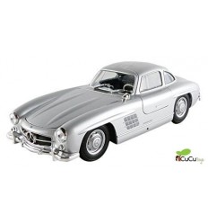 WELLY - Mercedes Benz 300 SL Coupé clásico, coche de juguete